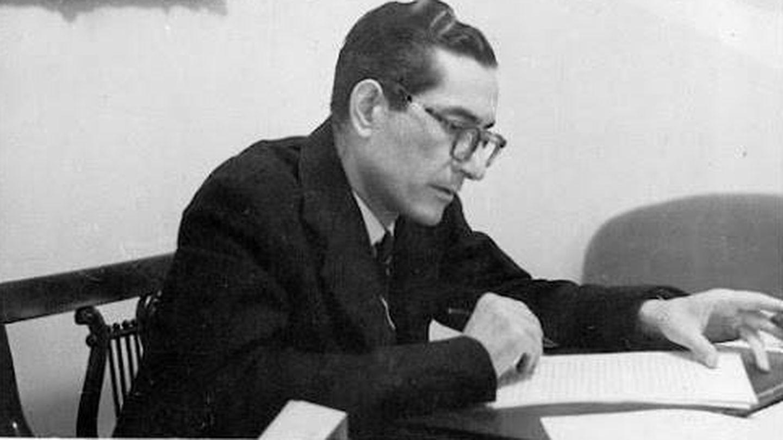 El poeta y falangista amigo de Lorca, Luis Rosales.