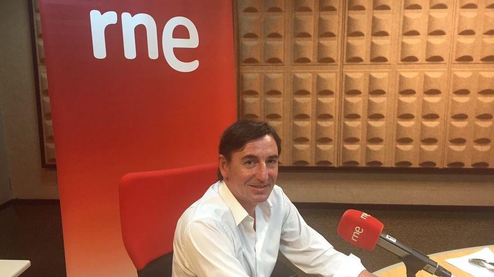 Foto: El presidente de la Cámara de Comercio de Pontevedra, Eduardo Barros. (Facebook)