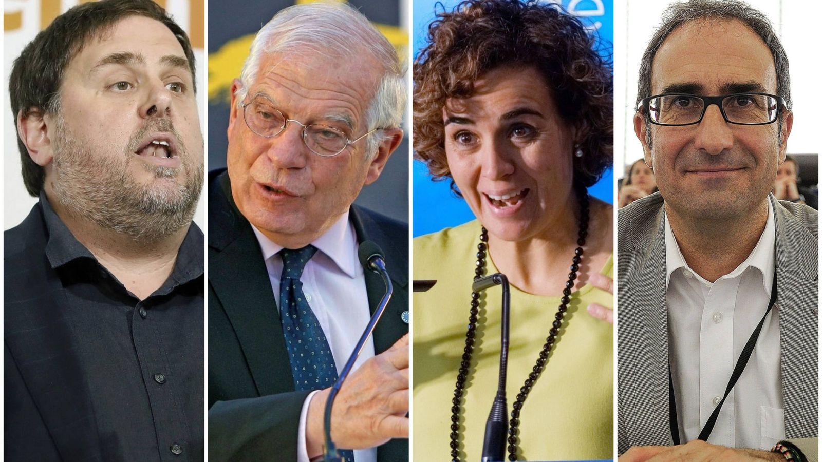 Foto: Candidatos al Parlamento Europeo. (El Confidencial)