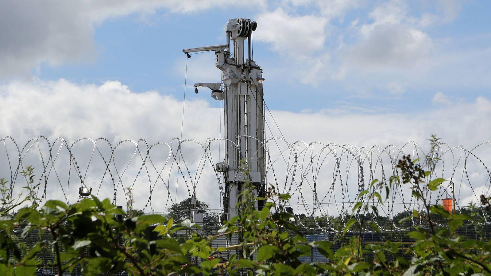 Foto: Fotografía de archivo de una instalación de gas mediante 'fracking'. (Reuters)