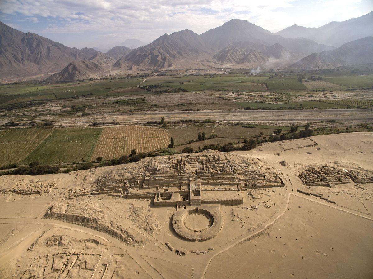 Foto: Caral es la civilización más antigua de América (EFE/ZAC)