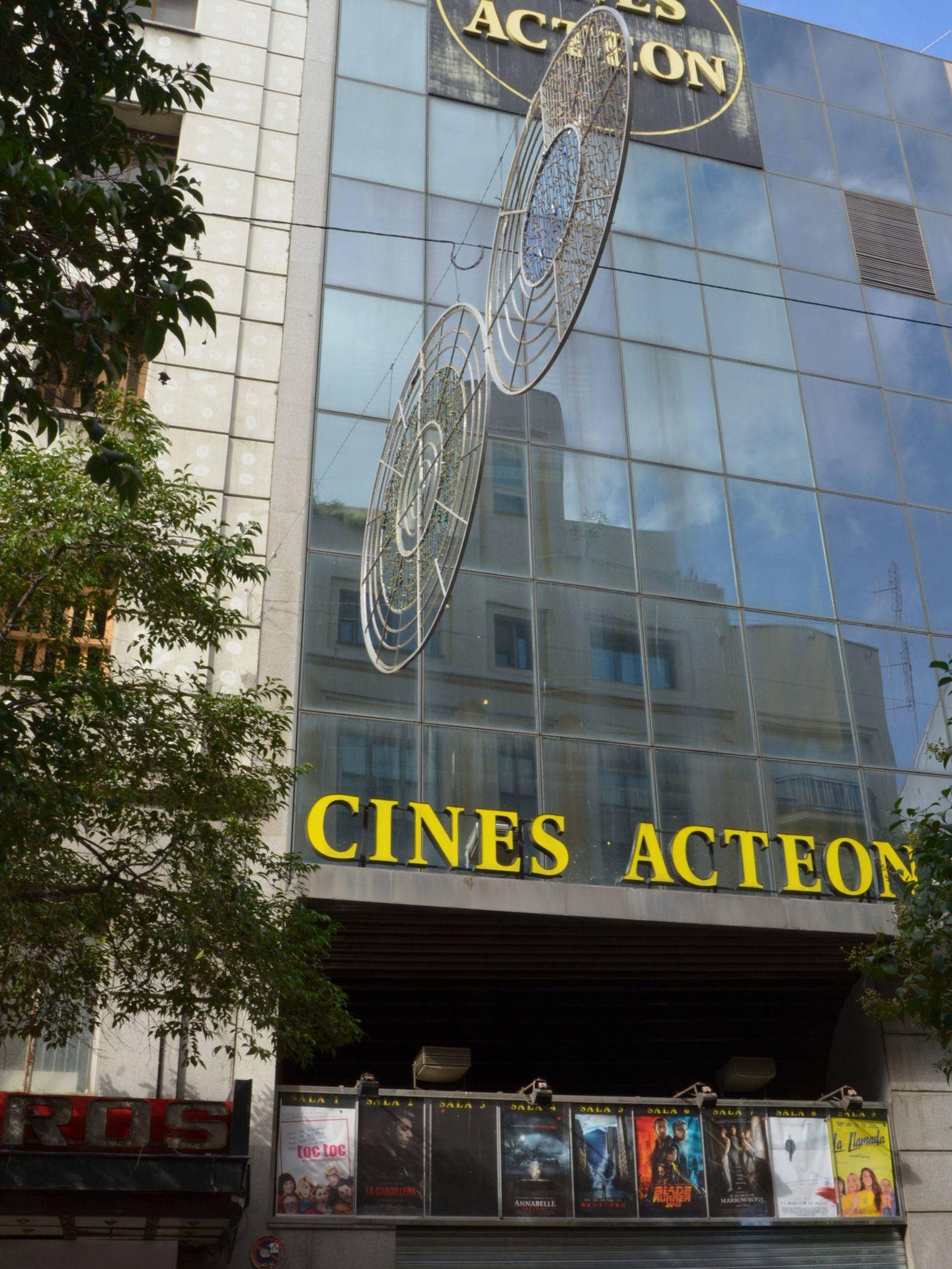 Antiguos cines Acteón.