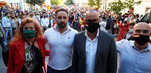 Post de Vox denuncia al delegado del Gobierno en Galicia por los altercados del mitin de Lugo