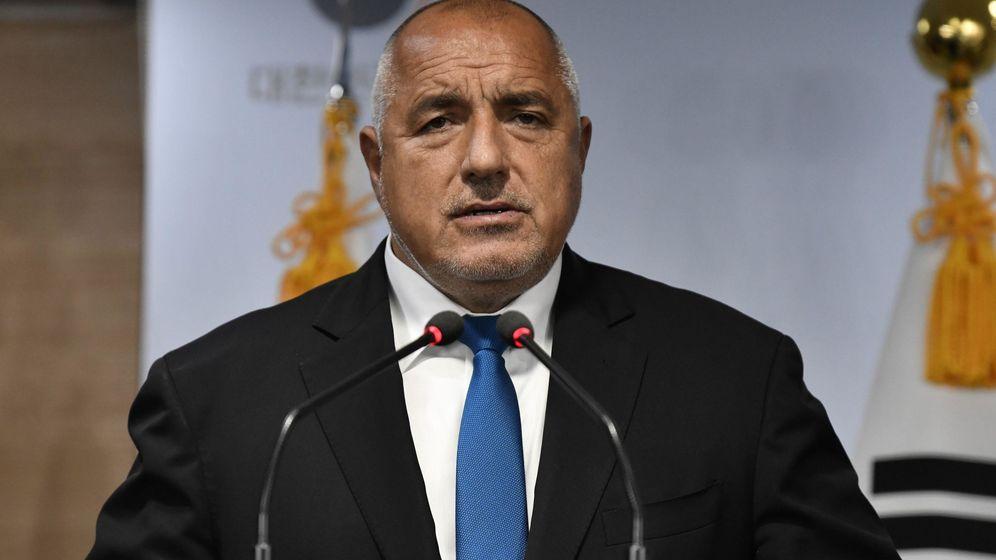 Foto: El primer ministro de Bulgaria, Boyko Borisov.