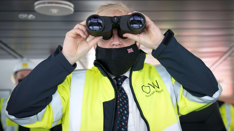 Boris Johnson durante una reciente visita a Escocia (Reuters)