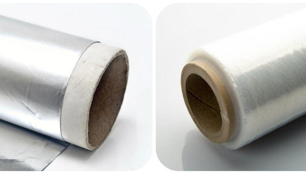 ¿Papel de aluminio o film transparente? Qué debes usar en cada caso