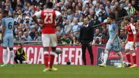 El Arsenal confirma que Guardiola se queda en blanco por primera vez