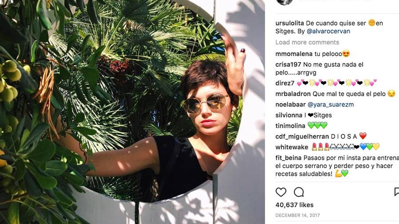 Úrsula Corberó. (Instagram)