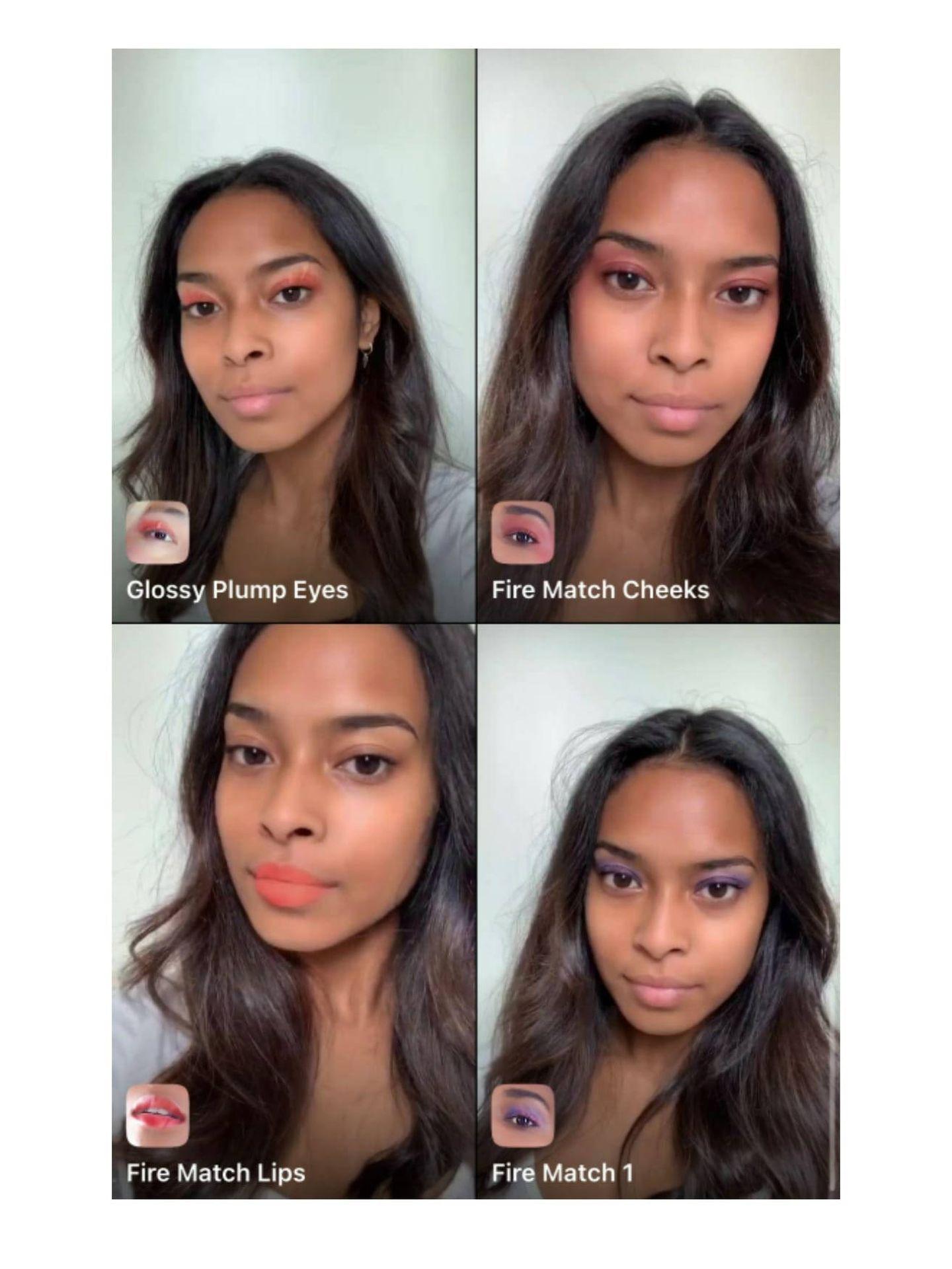 Prueba los filtros diseñados por Val Garland. (L'Oréal Paris)