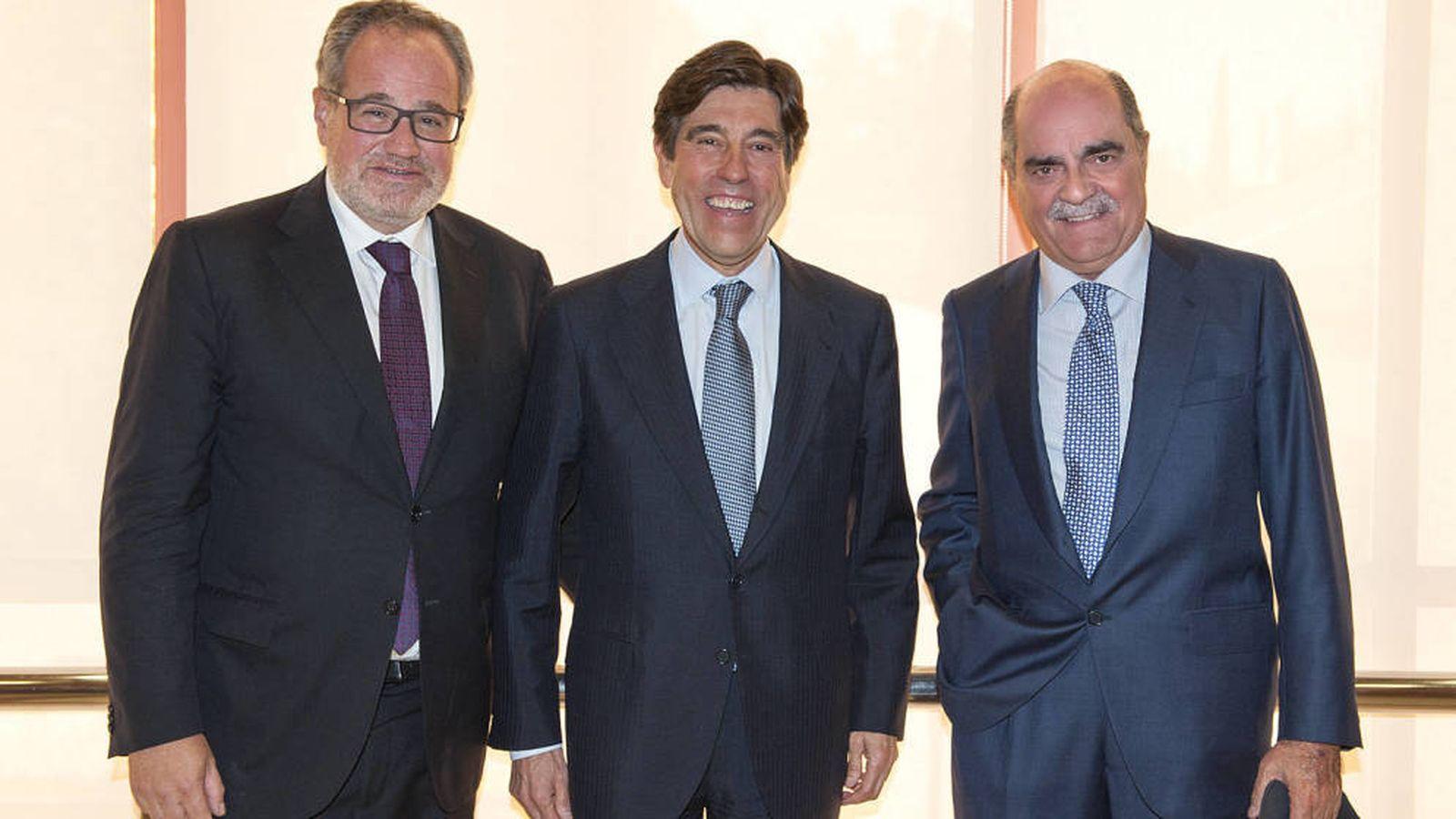 Foto: Demetrio Carceller, Manuel Manrique y José Moreno Carretero.