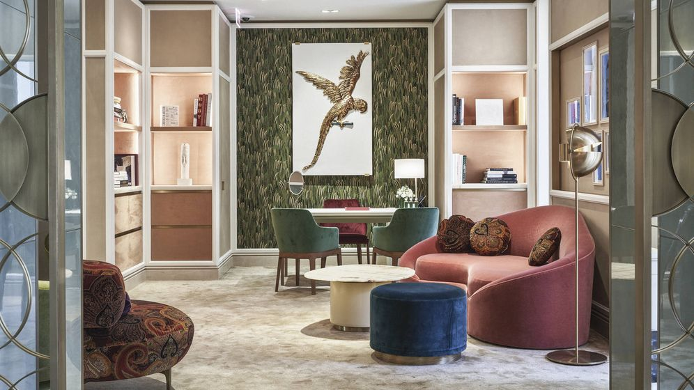 Foto: La 'VIP Room' del piso de arriba responde a la búsqueda de equilibrio entre inspiracióne innovación.