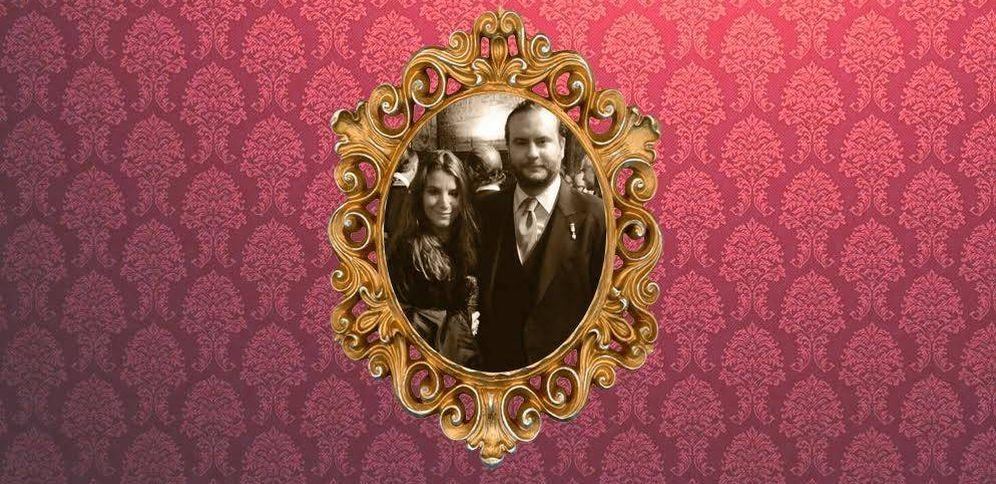 Foto: Casilda de Medina y su novio, Ignacio de Loyola, en un fotomontaje elaborado por Vanitatis.