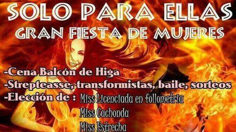 Polémica en Canarias por una fiesta para elegir a Miss Cachonda y Miss Estrecha
