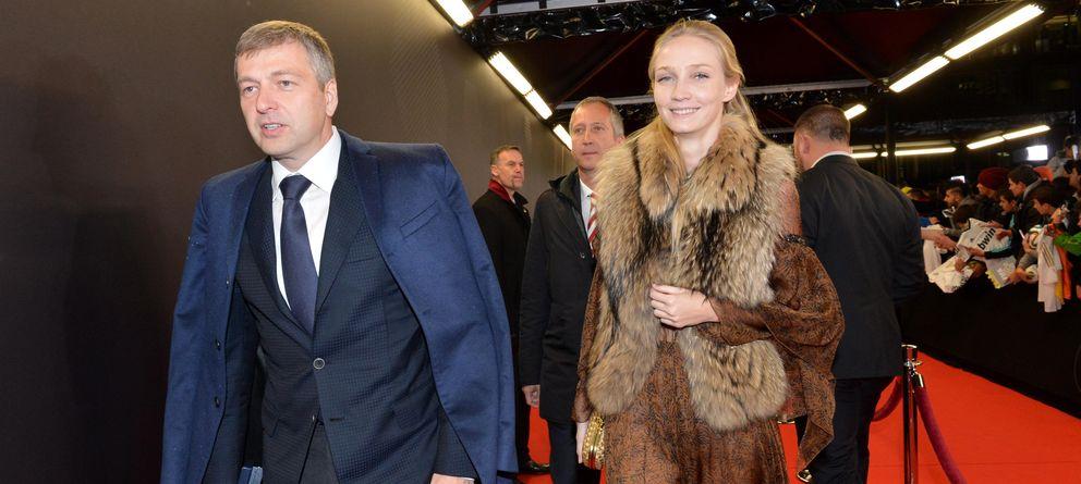 Foto: Dimitri Rybolovlev, dueño del club de fútbol AS Mónaco, y su mujer Elena en una imagen de archivo (Cordon Press)