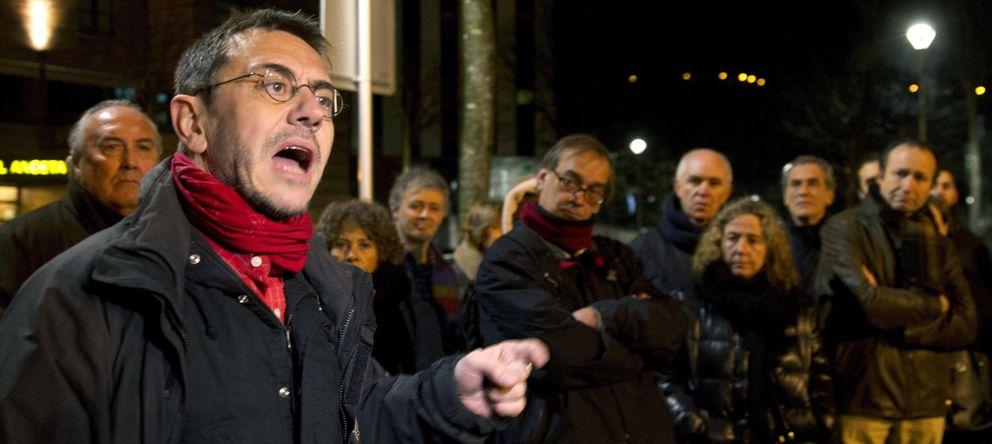 Foto: Juan Carlos Monedero, uno de los líderes de Podemos (EFE)