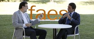 Rajoy y Aznar pactan las formas de su reencuentro tras la andanada del expresidente