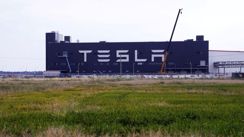 Foto: Fábrica de Tesla (Reuters)