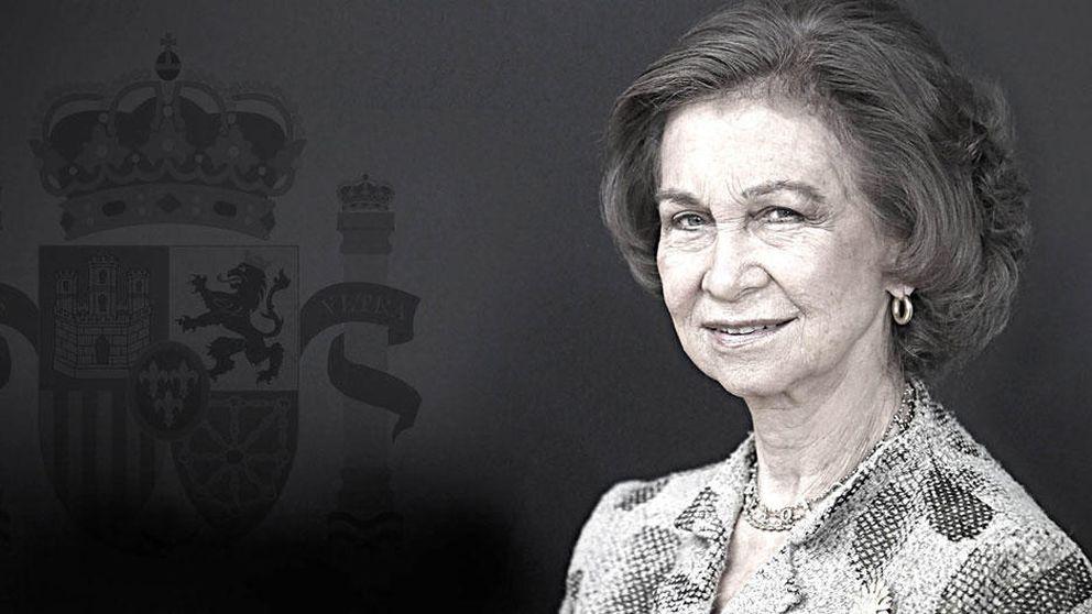 Doña Sofía, bastión de la unidad familiar, y su británica 'tía secreta'