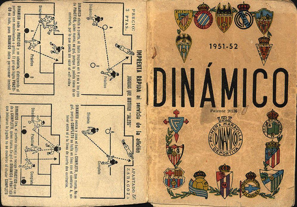 Foto: Impreso en Zaragoza, Dinámico se convirtió en la única fuente de datos fiable del fútbol español.