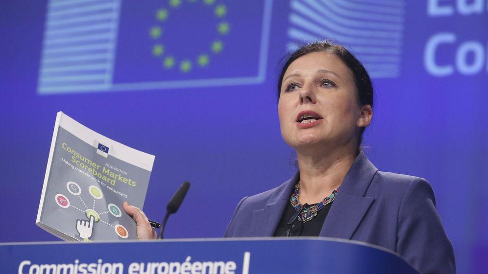 Foto: La comisaria europea de Justicia, Consumidores e Igualdad de Género, Vera Jourová. (EFE)