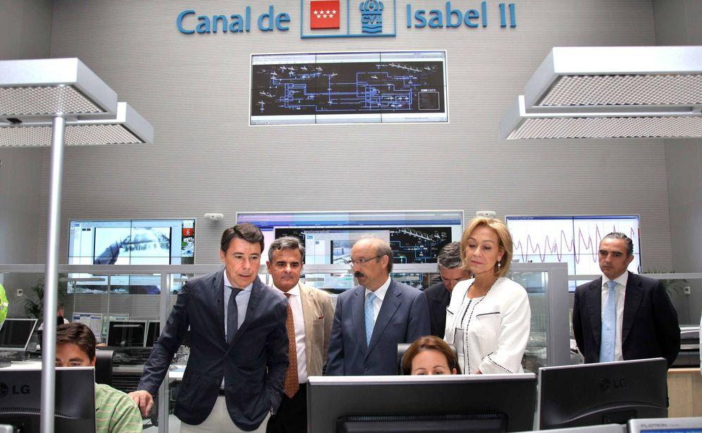 Foto: Ignacio González, expresidente de la Comunidad de Madrid y expresidente del Canal.