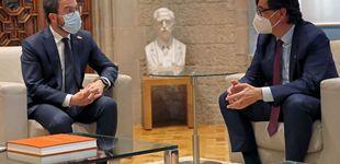 Post de Illa ve a Aragonès receptivo ante sus propuestas y lamenta que no vaya a la cena con el Rey