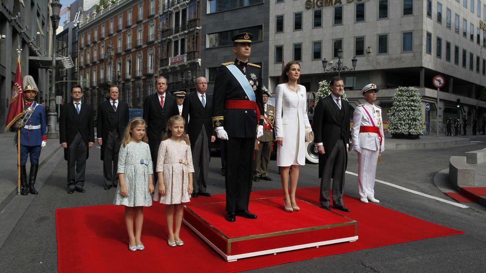 El día de la proclamación de Felipe VI, en imágenes