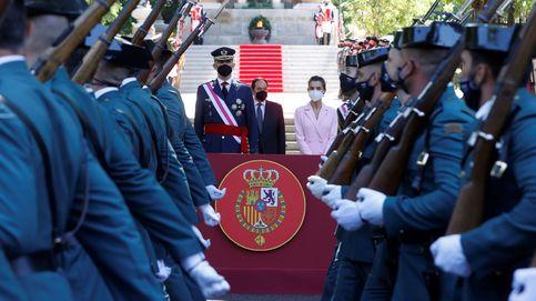 El Rey muestra su orgullo por la identificación de la ciudadanía con las Fuerzas Armadas