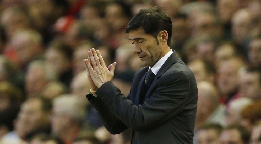 Foto: Las relaciones entre Marcelino y los jugadores del Villarreal estaban muy deterioradas (Reuters)
