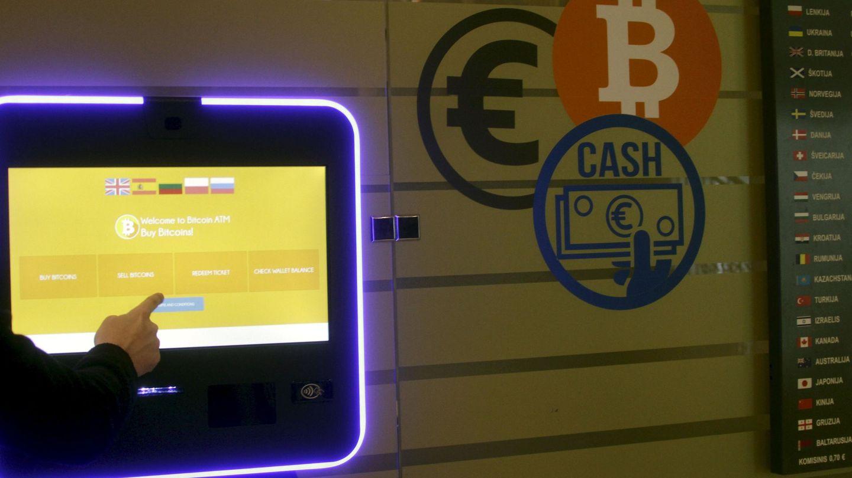 Madrid también tuvo varios cajeros de bitcoin. (Efe)