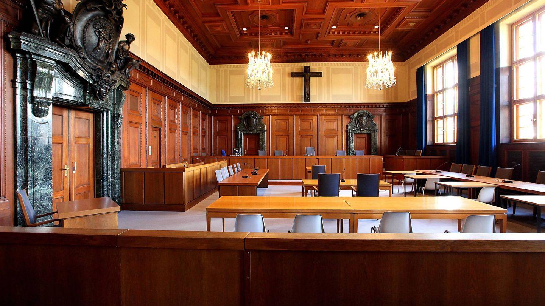 La sala 600 del Palacio de Justicia donde fueron juzgados los nazis. (Foto: Steffen Oliver Riese)