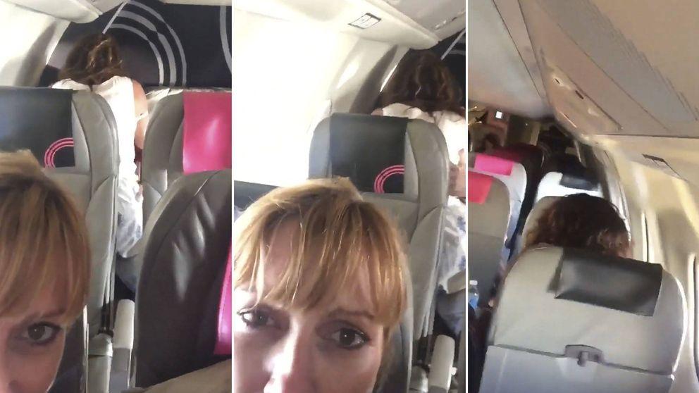 Una pareja comenzó a hacer el amor en el avión; así actuaron los de delante