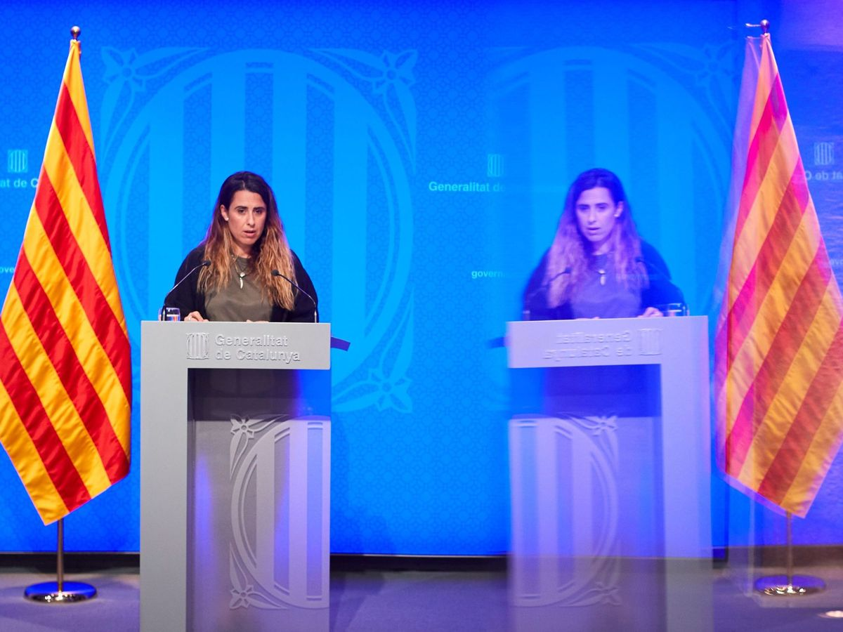 Foto: La nueva portavoz del Govern, Patricia Plaja. (EFE)