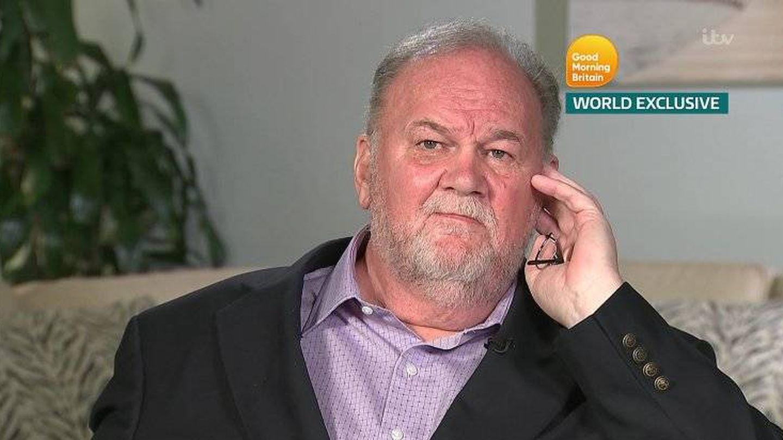 Entrevista a Thomas Markle en 'Good Morning Britain'. (Pantallazo ITV)