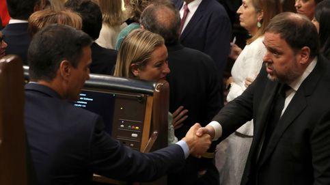 Los independentistas logran la foto con Sánchez y Junqueras le pide hablar