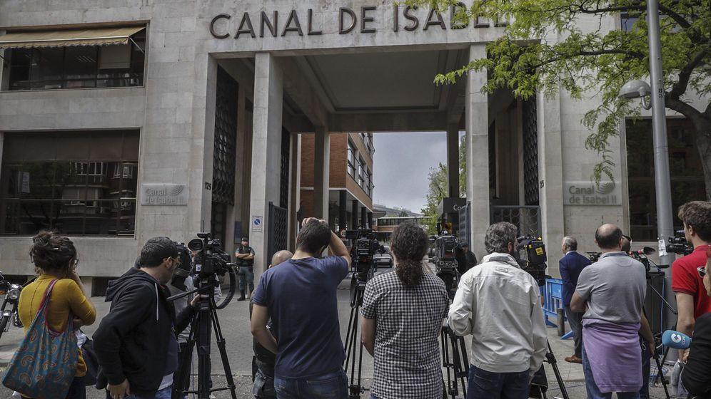 Foto: Sede principal del Canal de Isabel II en Madrid. (EFE)