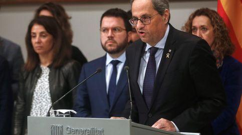 ERC se alinea con Torra para evitar que haya elecciones en los próximos meses