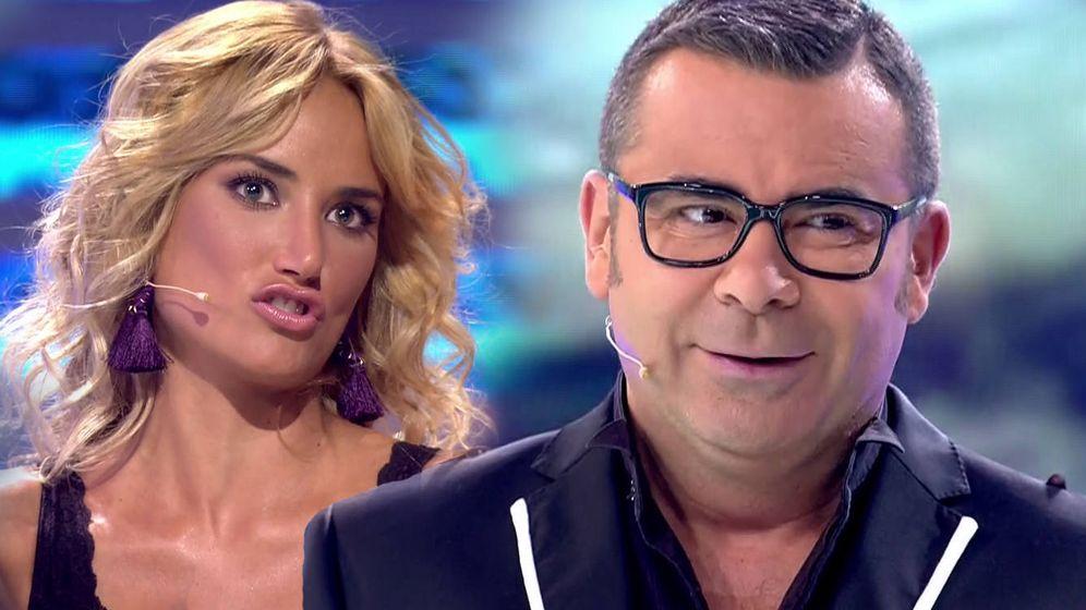 Foto: Jorge Javier Vázquez se ha aprovechado de su bronca con Alba Carrillo. (Mediaset España)