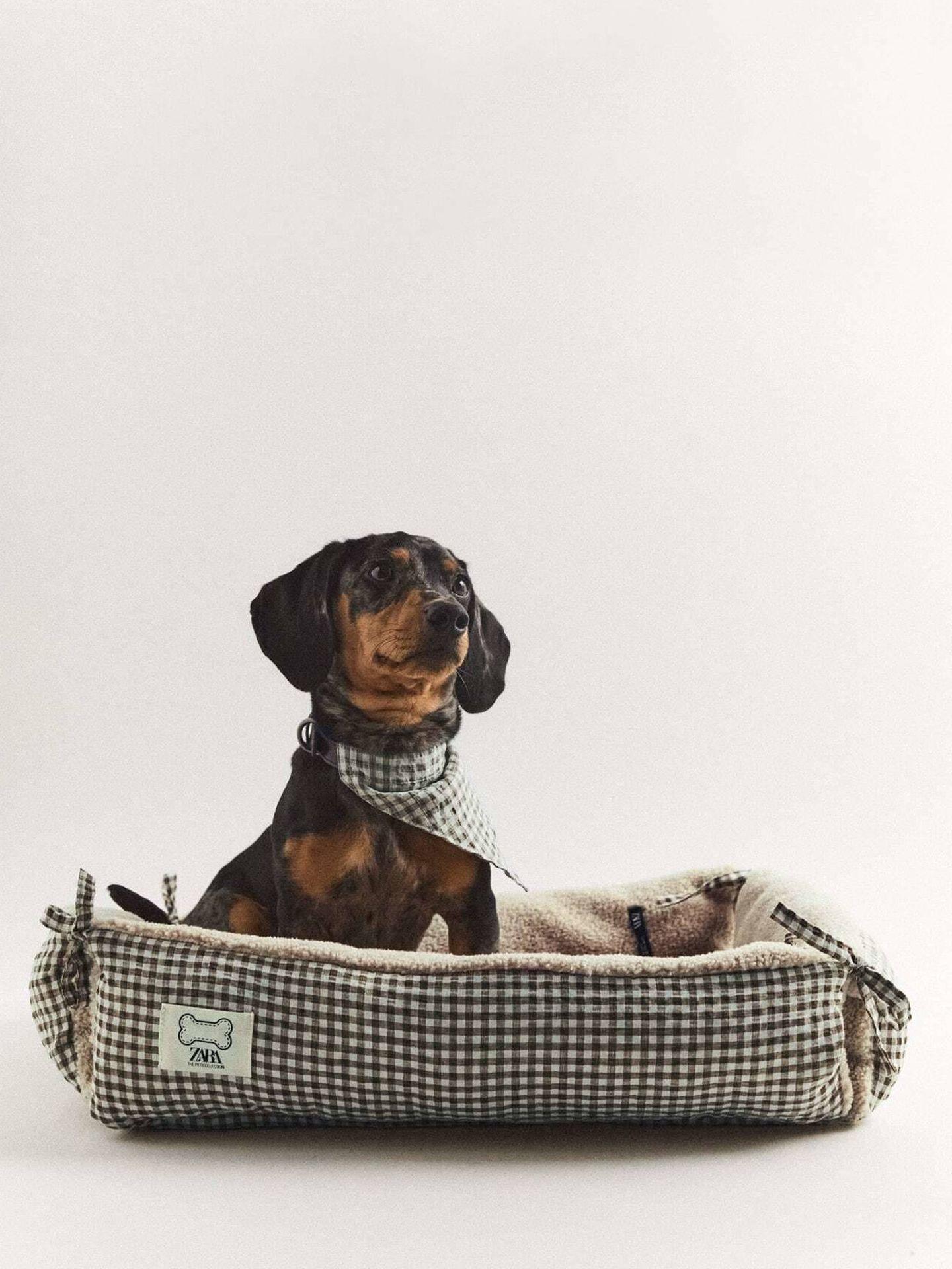 Una de las camas para perros de Zara. (Cortesía)