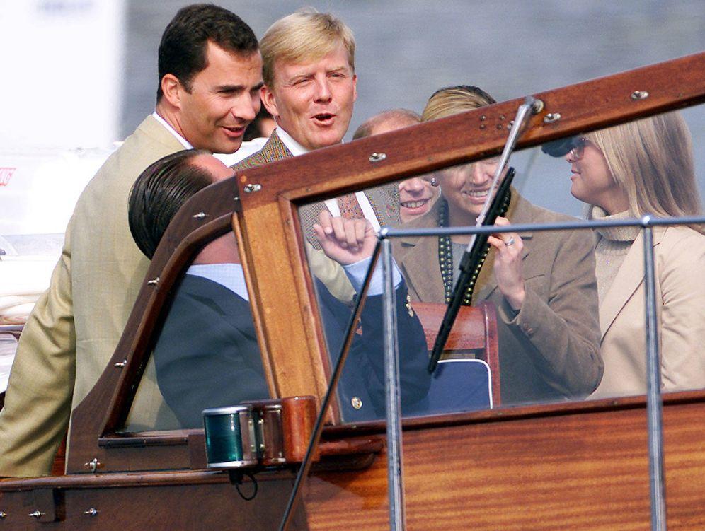 Foto: Los príncipes herederos, ahora reyes, en una imagen de archivo. (Reuters)