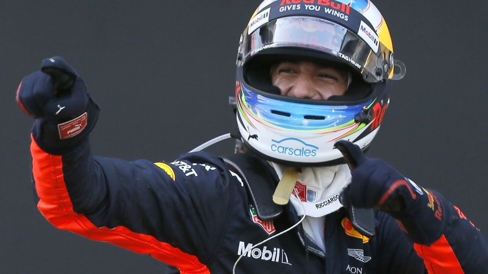 Ricciardo, el 'Ganso' que te gasta una broma y te aniquila después