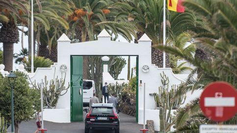Dos Falcon a Lanzarote en solo 5 días para empezar las vacaciones de la familia Sánchez