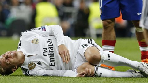 Kroos se fue lesionado con problemas en la cadera tras una fuerte caída