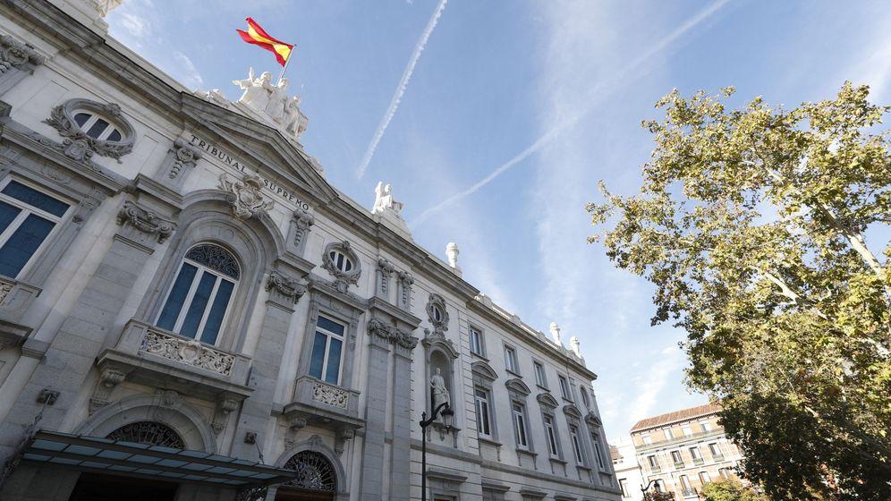 Foto: Vista de la fachada del Tribunal Supremo. (EFE)