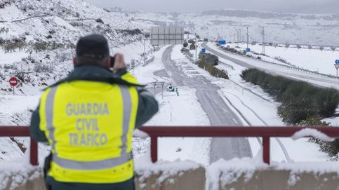 Carreteras murcianas cortadas por la nieve