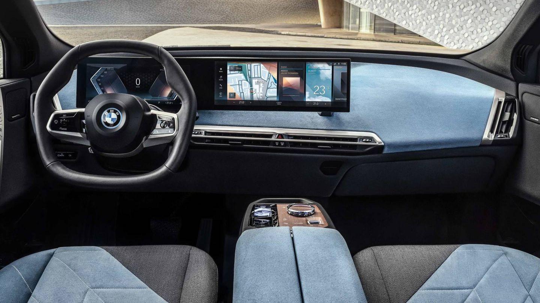 Así será el interior del BMW iX que supone un gran paso hacia el futuro.