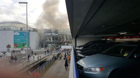 Varios heridos en dos explosiones en el aeropuerto de Bruselas