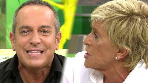 Gran bronca entre Víctor Sandoval y Chelo: Estás fatal y no tienes un duro