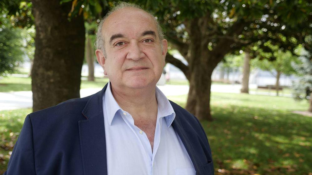 Foto: Emilio del Valle, cabeza de lista de VOX al Congreso de los Diputados por Cantabria (Carlos Atienza)