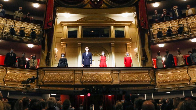 Apertura de la temporada del Teatro Real.  (EFE)